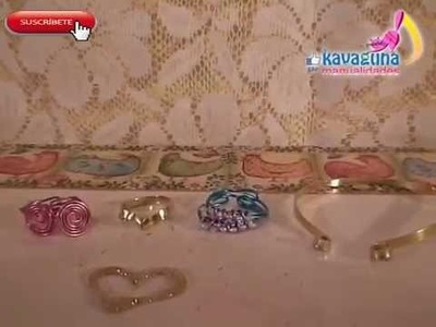 DIY 3 anillos hermosos y 1 pulsera ideales para regalos