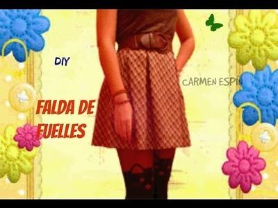 DIY: FALDA DE FUELLES