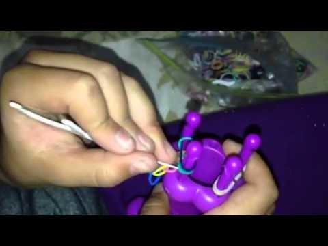 DIY- Pulseras y anillos de Hule