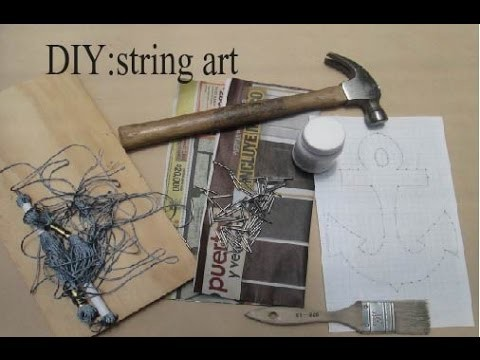 DIY: string art l chofas