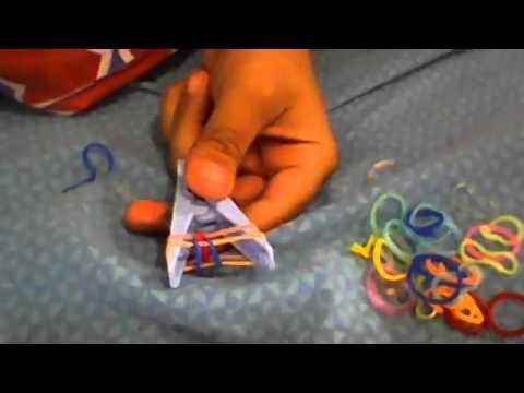 Como hacer pulseras de gomitas con pinza de la ropa. Diy-mike-