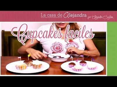 Cupcakes Fáciles - DIY. Alejandra Coghlan