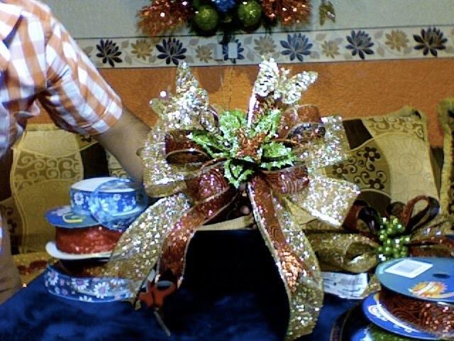 DIY Christmas ribbons crea tus moños navideños