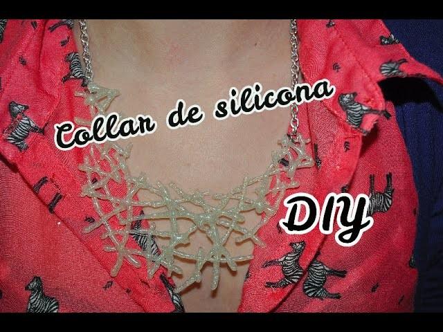 DIY collar de silicona muy fácil !