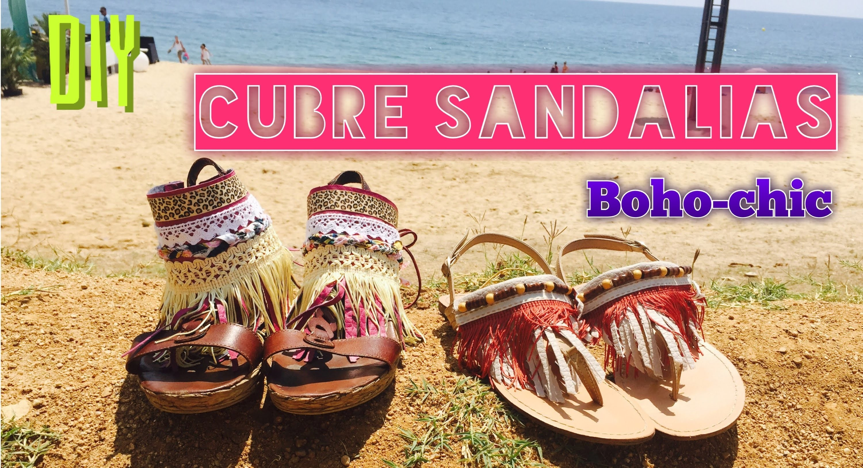 DIY | Cubre Sandalias | Boho-Chic| #cubresandaliasmonamuguet