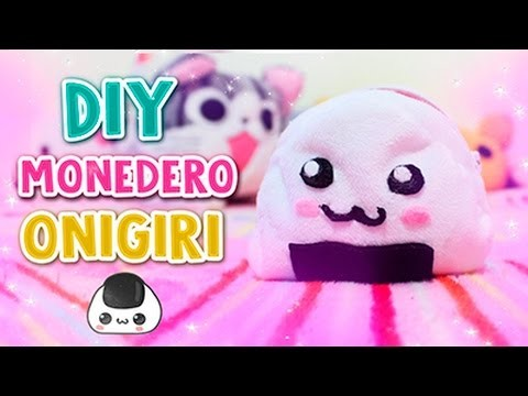 DIY KAWAII ✩ MONEDERO DE ONIGIRI ✩ l Fabbi Lee