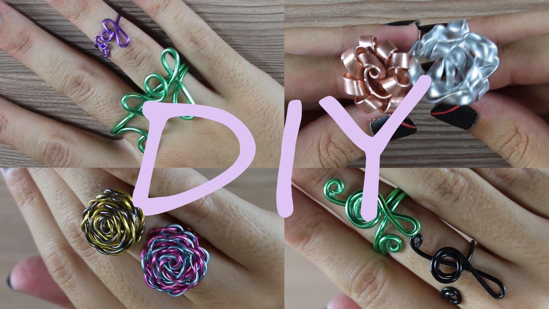 DIY Rings | Manualidad Anillos | Laia López