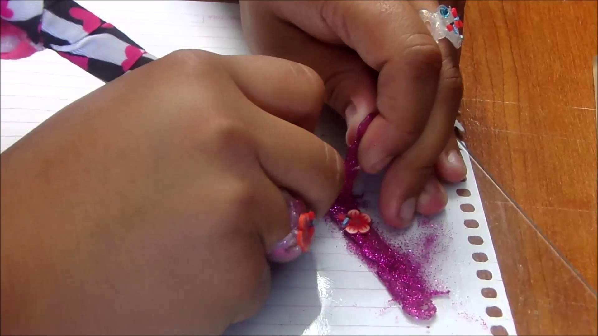 DIY: Sortija Rosa hecha con cilicon caliente