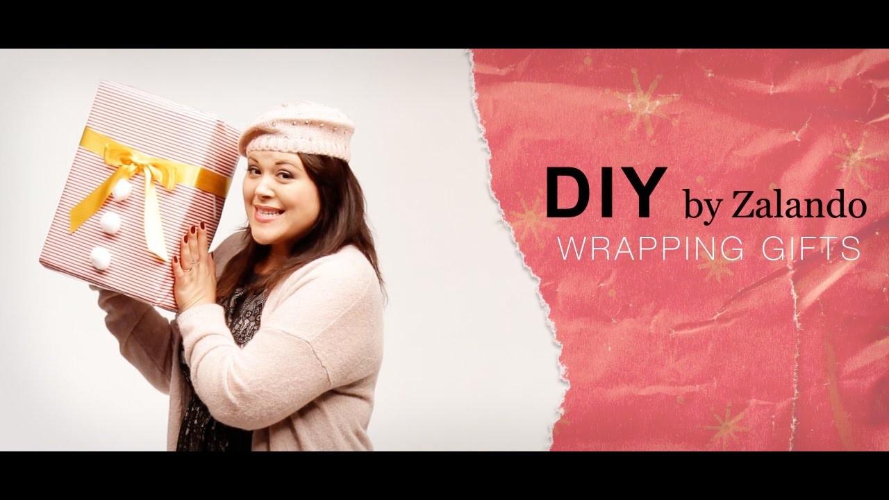 Envuelve tus regalos ¡hazlo tú misma! | DIY cómo envolver regalos | Zalando