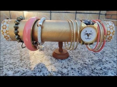 Organizador de pulseras y accesorios - DIY