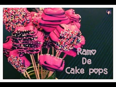 DIY: Como hacer Deliciosas Cake Pops Sin Horno! ♡ ♡