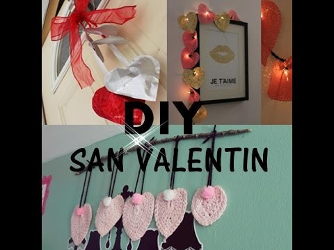 Diy decoracion para  san valentin | valentine's day