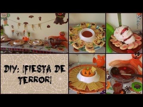 DIY FIESTA DE TERROR. Halloween. Día de Muertos