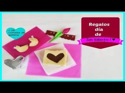 DIY: Regalos ♥Día de San ValentÍn !!♥  ideas regalos.postre ♥ FÁCIL