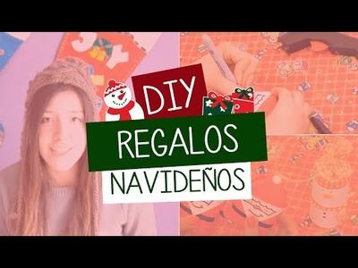 DIY - REGALOS NAVIDEÑOS DE ULTIMO MINUTO