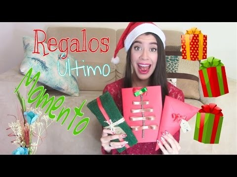 DIY❤  regalos para NAVIDAD de ÚLTIMO MOMENTO!!!!!