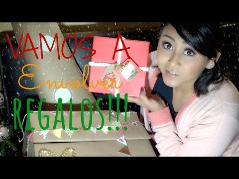 Vamos A Envolver Regalos!!! *3 Ideas Diferentes. Wrapping Presents -DIY- MonCruzPinto♥