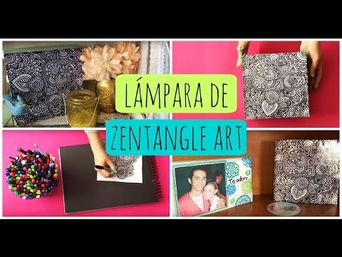 Decoración.Regalo DIY Zentangle Art | Dani Hoyos Art