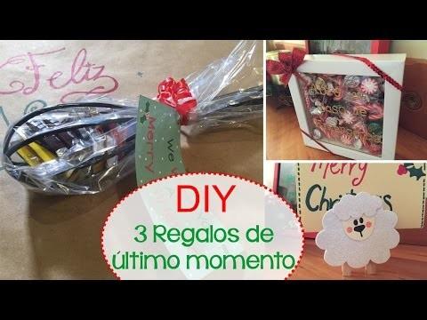 [DIY] 3 Regalos de último momento para Navidad