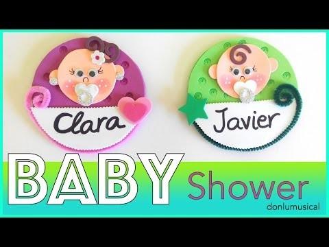 DIY Baby shower. Bautizo. Ideas, regalos, manualidades. Niño y niña.