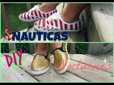DIY Gomas para el verano NAUTICAS. NOCTURNAS