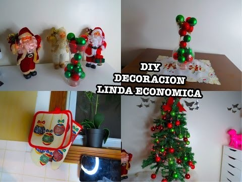 Diy ideas decoraccion navidad economicas