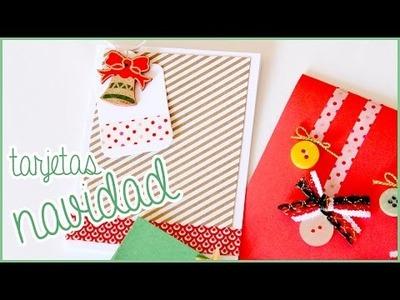 DIY: Tarjetas de navidad  ♥