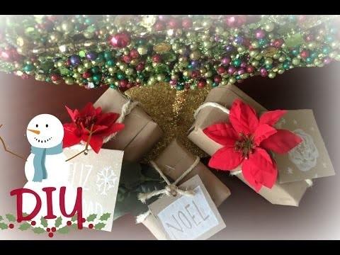Ideas para empacar tus regalos en navidad -DIY | Marqueza