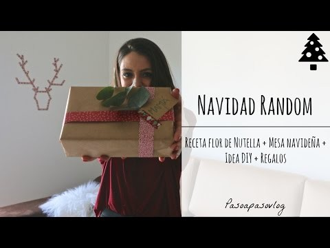 RECETA, REGALOS, DIY Y MESA NAVIDAD | PASO A PASO