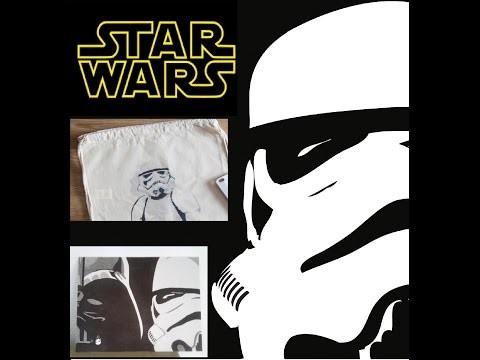 Star Wars  [ DIY Cuadro Stormtrooper ] Hazlo tu mismo