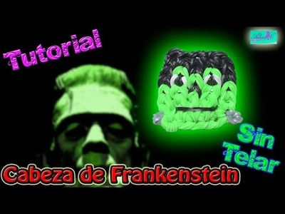 ♥ Tutorial: Cabeza de Frankenstein de gomitas (sin telar) ♥