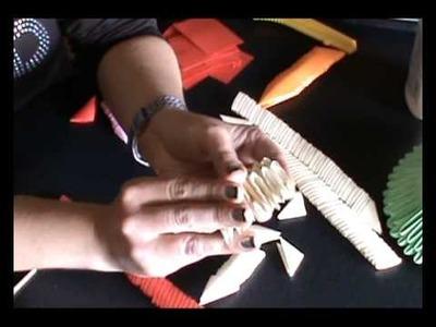 Tutorial letras origami 3d mayuscula y minuscula 2014