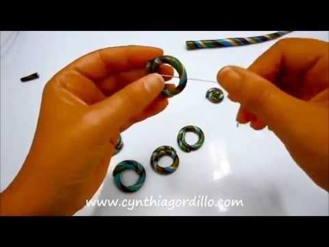 Tutorial nº 9. Collar espirales y cuentas