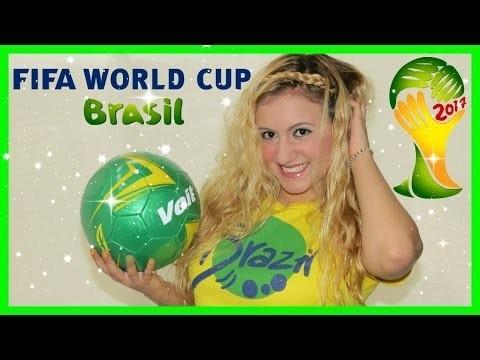 BRASIL COPA MUNDIAL 2014 DIY MINI SNACKS TIPO GOURMET Glam Barbie ❤