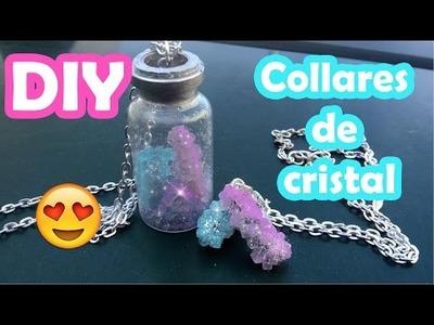 DIY ♥ Collares de cristal ♥