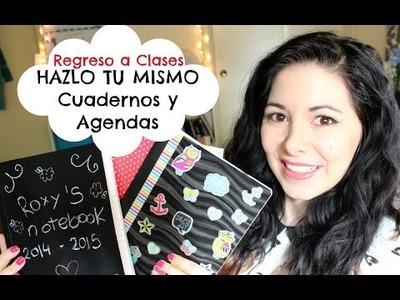 DIY Cuadernos Y Agendas! Regreso A Clases!