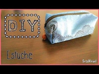 DIY Estuche ¡Fácil! | SrtaViruel
