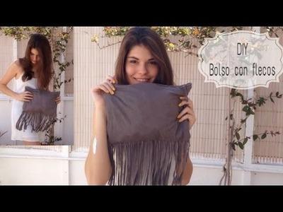 DIY: Haz tu propio bolso con flecos!