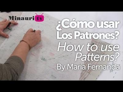 DIY - How to - Patterns ( Cómo usar patrones )