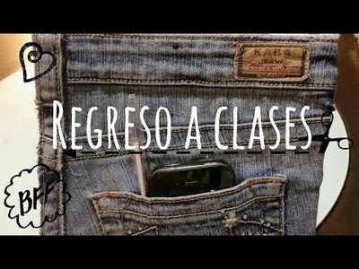 DIY - Regreso a clases | LIBRETA DE MEZCLILLA