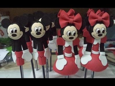 Como hacer Fofulapiz Minnie - DIY