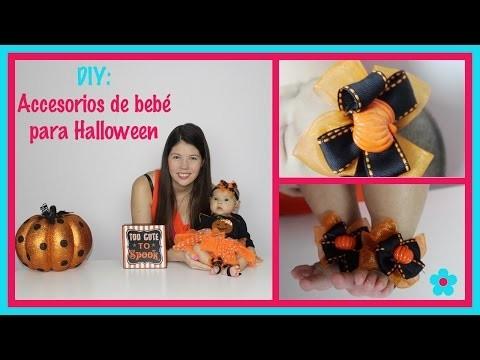 DIY  Accesorios de bebé para Halloween