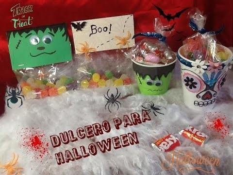 Diy  Dulceros para Halloween.By Itzomex