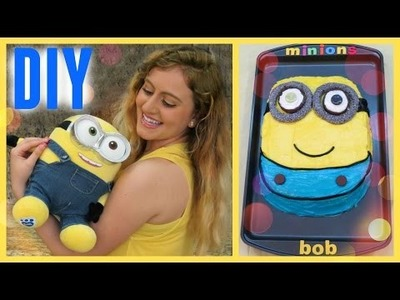 PASTEL DE MINIONS! DIY Glam Barbie❤