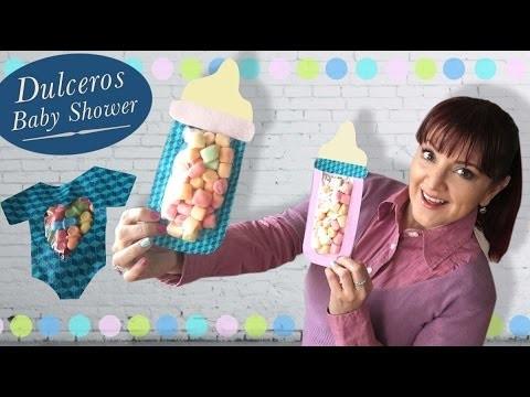 Biberon Dulcero :: Baby Shower DIY :: Chuladas Creativas