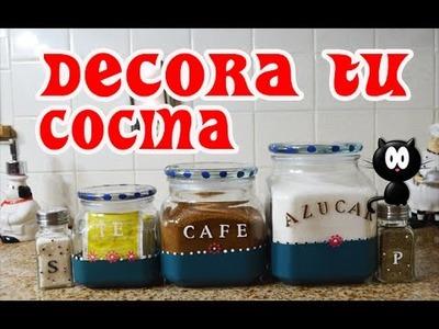 DIY : Decora tu Cocina - Fácil y Barato !
