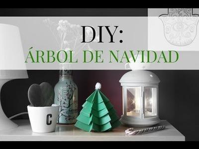 DIY ¡Haz un árbol de Navidad!  | Duulcedeleche