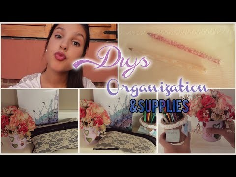 ►Back to school:DIY Supplies & Room Decor