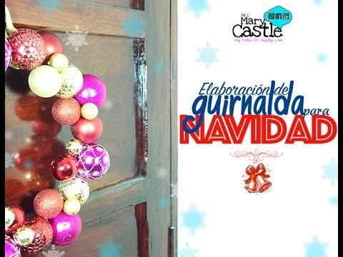 DIY - Guirnalda Navideña!