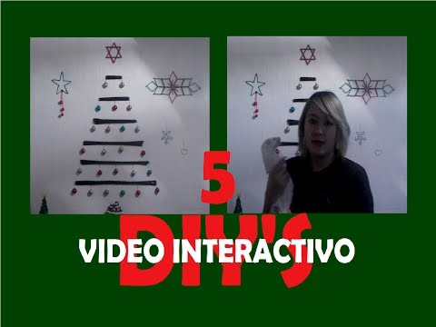 DIY NAVIDEÑO.Video interactivo.